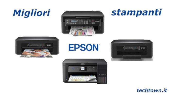 recensione migliori stampanti epson