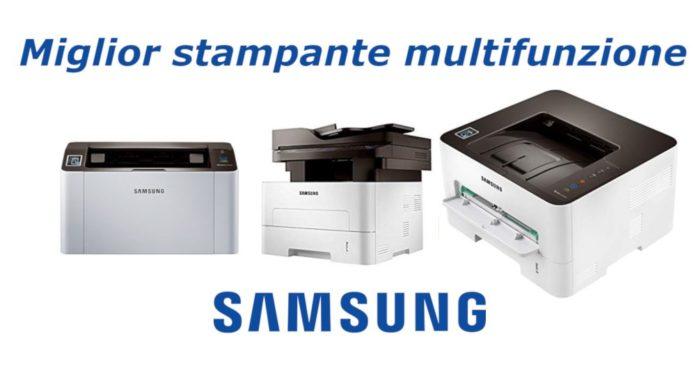 recensione stampanti samsung