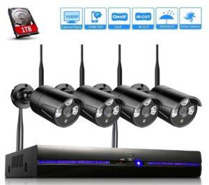 Videosorveglianza Wifi Kit 1080P REIGY