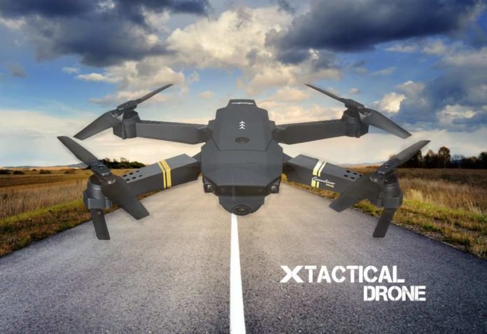 recensione x tactical drone