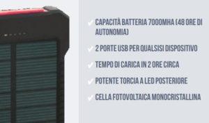solar charger funzioni