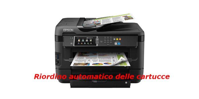 stampanti con servizio amazon dash replishment