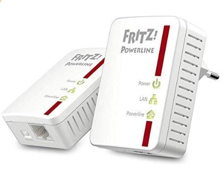 Fritz Powerline 510E Kit di 2 Adattatori