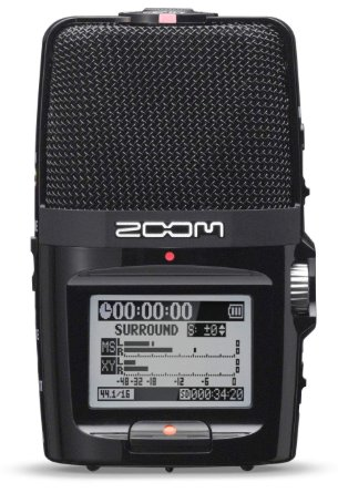 Zoom H2n Ifs registratore vocale 4 tracce