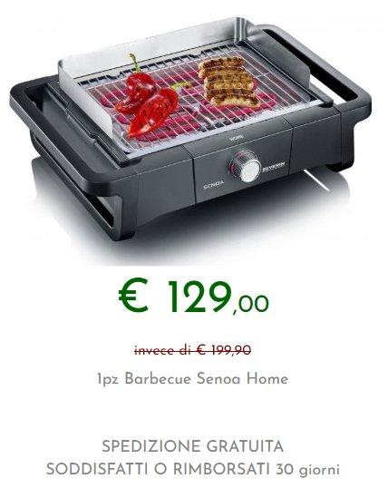 prezzo barbecue senoa home