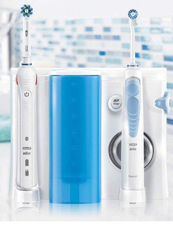 Idropulsore Oral-B Oral Center Oxyjet con spazzolino