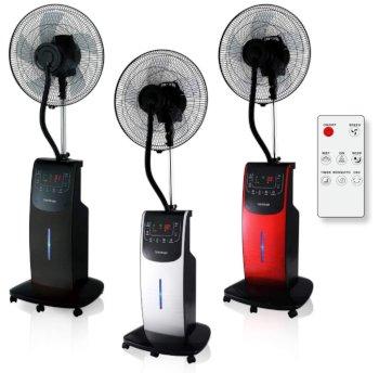 Dardaruga ventilatore con nebulizzazione