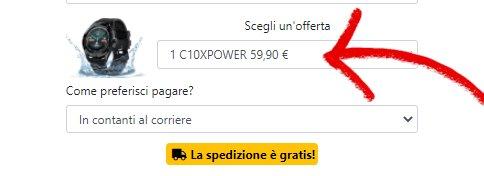 c10 xpower prezzo